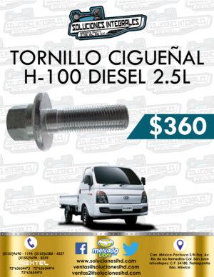 TORNILLO CIGUEÑAL H100 DIESEL 2.5L