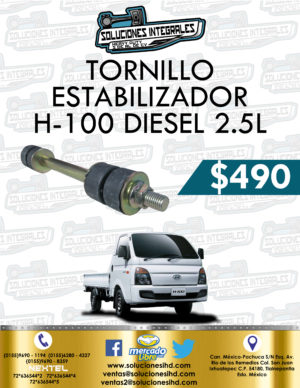 TORNILLO ESTABILIZADOR H100 DIESEL 2.5L