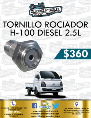 TORNILLO ROCIADOR H100 DIESEL 2.5L