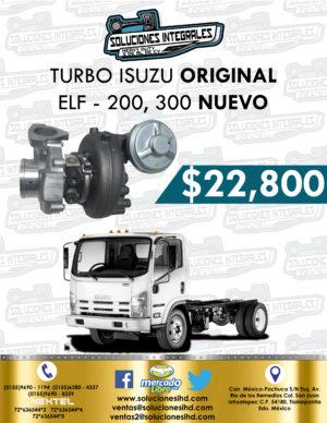 TURBO ISUZU ELF 400, 500 Y 600