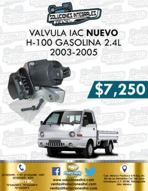 VÁLVULA IAC H-100 GASOLINA 2.4L