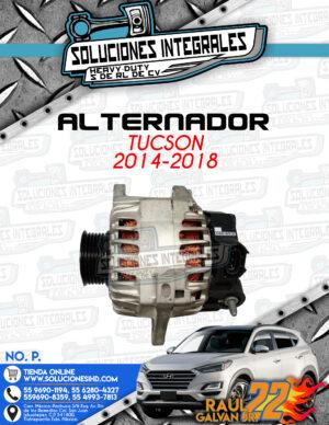 ALTERNADOR TUCSON 2014-2018