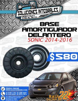 BASE AMORTIGUADOR SONIC 2014-2016