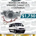 BOMBA AGUA SPRINTER OM647