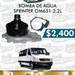 BOMBA AGUA SPRINTER OM651