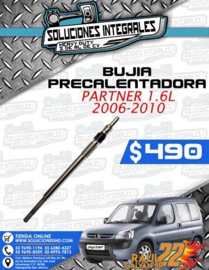 BUJIA PRECALENTADORA PARTNER 1.6L 2006-2010