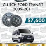 CLUTCH FORD TRANSIT 2.2L 2009-2011