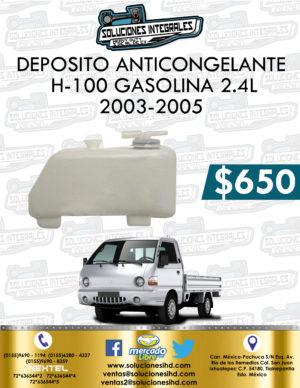 DEPOSITO ANTICONGELANTE H-100 GASOLINA 2.4L