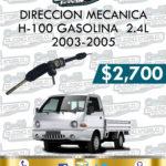 DIRECCIÓN MECÁNICA H-100 GASOLINA 2.4L