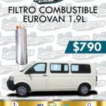 FILTRO COMBUSTIBLE EUROVAN 1.9L