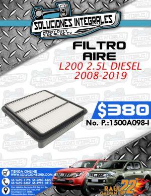 FILTRO AIRE L200 2.5L DIESEL