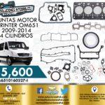 JUNTAS MOTOR SPRINTER OM651 4 CILINDROS
