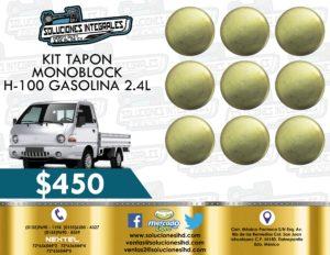 KIT TAPÓN MONOBLOCK H-100 GASOLINA 2.4L