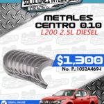 METALES CENTRO 0.10 L200 2.5L DIESEL