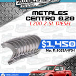 METALES CENTRO 0.20 L200 2.5L DIESEL