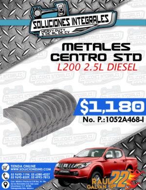 METALES CENTRO STD L200 2.5L DIESEL