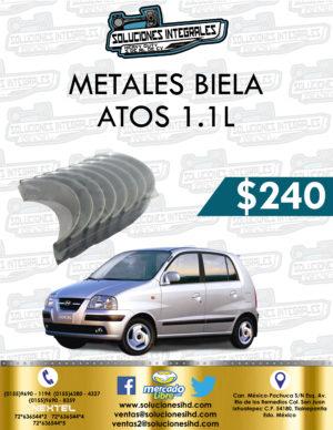 METALES BIELA ATOS 1.1L