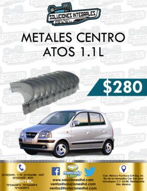 METALES CENTRO ATOS 1.1L