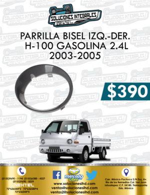 PARRILLA BISEL DER. O IZQ. H-100 GASOLINA 2.4L