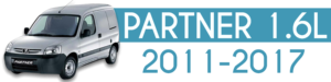 PARTNER 1.6L 2011-2017