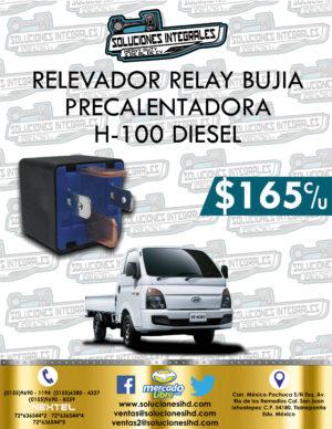RELEVADOR RELAY BUJÍA PRECALENTADORA H-100 DIESEL 2.5L
