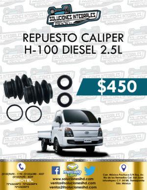 REPUESTO LIGAS CALIPER H-100 DIESEL 2.5L