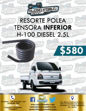 RESORTE POLEA TENSORA INFERIOR H-100 DIESEL 2.5L