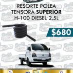 RESORTE POLEA TENSORA SUPERIOR H-100 DIESEL 2.5L