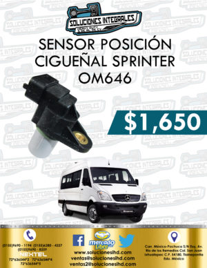 SENSOR POSICIÓN CIGUEÑAL SPRINTER OM646