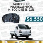 TABLERO INSTRUMENTOS H100 DIESEL 2.5L