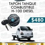 TAPÓN TANQUE COMBUSTIBLE H100 DIESEL 2.5L