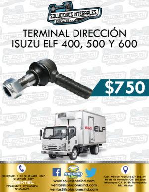TERMINAL DIRECCIÓN ISUZU ELF 400 , 500 Y 600