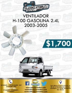 VENTILADOR H-100 GASOLINA 2.4L