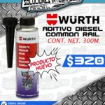 "ADITIVO DIESEL COMMON RAIL ""WURTH"""