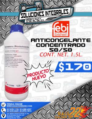 """ANTICONGELANTE CONCENTRADO 50/50 """"FEBI"""""""