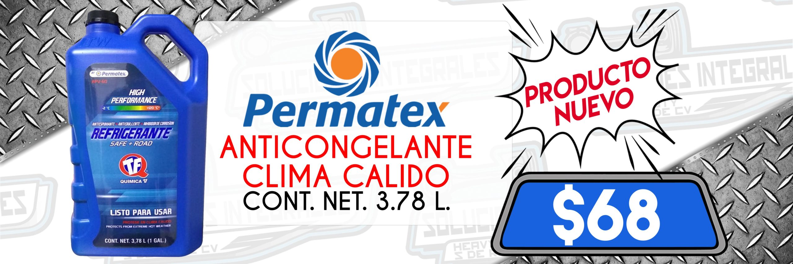 ANTICONGELANTE PERMATEX