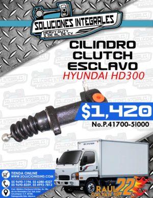 CILINDRO CLUTCH ESCLAVO HYUNDAI HD300