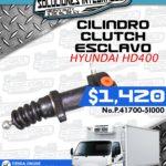 CILINDRO CLUTCH ESCLAVO HYUNDAI HD400