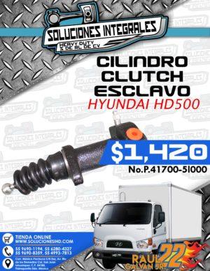CILINDRO CLUTCH ESCLAVO HYUNDAI HD500