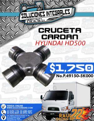 CRUCETA CARDAN HYUNDAI HD500