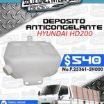 DEPOSITO ANTICONGELANTE HYUNDAI HD200