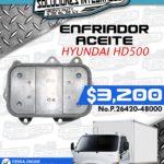 ENFRIADOR ACEITE HYUNDAI HD500