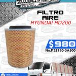 FILTRO AIRE HD200