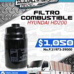 FILTRO COMBUSTIBLE HYUNDAI HD200
