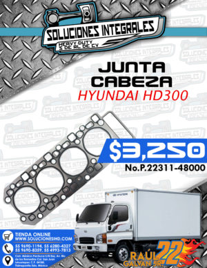 JUNTA CABEZA MOTOR HYUNDAI HD300