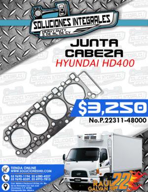 JUNTA CABEZA MOTOR HYUNDAI HD400