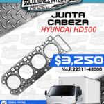 JUNTA CABEZA MOTOR HYUNDAI HD500