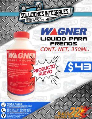 LIQUIDO PARA FRENOS WAGNER 350 ML.