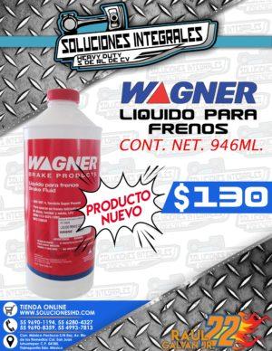 LIQUIDO PARA FRENOS WAGNER 946ML.