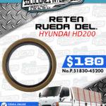 RETEN RUEDA DELANTERA HYUNDAI HD200